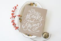 Thanksgiving ideas / Thanksgiving DIYS, food, decor, and crafts