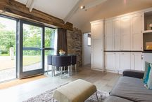 Concreate used in Rustic barn conversion