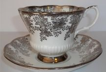 """White, Ivory, Gold and Silver"" Royal Albert Patterns"