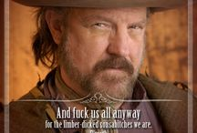 Deadwood / One of my favorite all time series