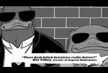 Platypus Police Squad—a middle-grade novel series by Jarrett J. Krosoczka  / My chapter book series kicks off with the first book in the series, Platypus Police Squad: The Frog Who Croaked! On bookshelves May 7, 2013!
