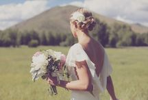 Ethereal Wedding Gowns / Romantic; delicate; tulle; whimsical; embroidered; feminine; vintage inspired Wedding dresses