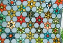 Hexagon quilt Ideas