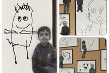 classroom: self portraits