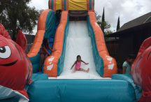 20Ft Big Kahuna Water Slide / This is our BRAND NEW 20ft Big Kahuna Water Slide. The dimensions are 35L x 14W x 20H. Big Kahuna Water Slide from Hi Jump Rentals 808-589-9000 http://www.hijumprentals.com/big-kahuna/