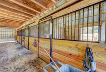 436 Hog Lot Rd. Rogersville, Tn / This is a turn key horse farm sited on 23 cleared level acres with flowing creek and pond. Fenced and cross fenced with high tensile/electric. 40x60 8 stall horse barn was built in 2012. The home was built in 2010 and is great open floor plan 3 bed 2 bath.There is a workshop utility building with power/water, large carport and amazing mountain views. Home is sited well off road and very private.  Schedule your private showing today.Buyer/Buyer's Agent to verify all information. #TriCitiesAgent