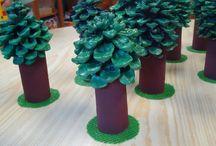 Tvoření / tvoření s dětmi, ručně vyráběné dekorace