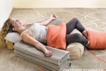 Restortive yoga