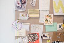 Interior design and mood boards