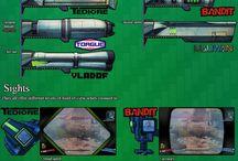 Borderlands Weapons
