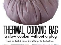 Thermal Cooking Bag Recipes / Cooking in a new old fashioned way using residual heat. Frugal way to cook and eat.