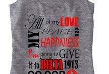 I <3 Delta Sigma Theta / by Deana J.