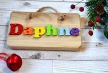 Rainbow Baby Name Plaque