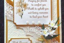 Handmade Sympathy cards by Card Art Kilcoole