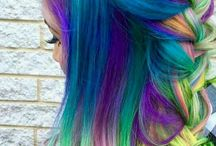 Funky Hair Colours.