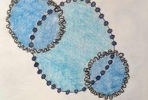 Circle Artworks by Leanne Barrett