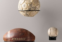 Sports themed room ideas / by Laurie Jones
