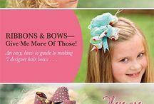 Bows Bows and More Bows!