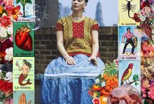 Inspiration from Art: Frida Kahlo / Scrapbook and craft inspiration based on the art of Frida Kahlo.