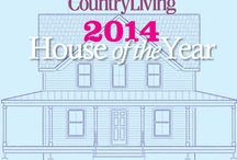 "Country Living House of the Year 2014 / Country Living Magazine's 2014 House of the Year in Rhinebeck, New York. This year's project is a 1,500 square foot ""new old home"" that captures the charm, beauty, and character of the past."
