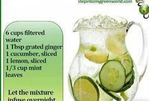 flat tummy water infused drink