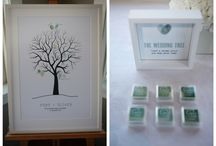 HB Wedding Tree / Guest Book alternative - Wedding Tree! ......'leaf' a thumbprint and sign your name......
