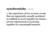 synchronicity
