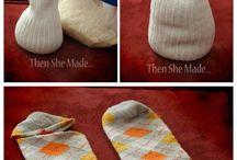 Ponožkové a rukavicové hračky