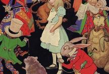 Alice in Wonderland illustrated