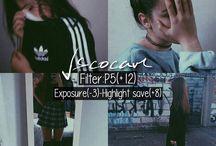 VSCO filtros