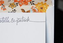 Fit to Print / Beautiful Stationery  / by Ashley Sutton