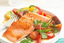 Skillet seared salmon