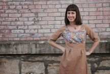 Colette patterns - Dahlia / dress robe