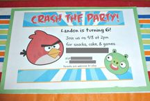 Angry Birds / by Sarah Welte