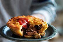 Savoury pies & tarts