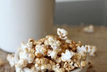 Snack Recipes / Snack ideas.  Everything from popcorn to nuts.
