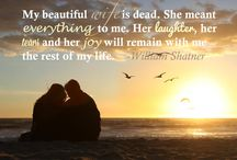 Quotes: Loss of Wife / Popular quotes on the loss of a wife by famous authors, celebrities, and newsmakers. Pin a quote that provides you with comfort or inspiration in your time of need.