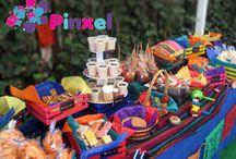 Mesas de dulces tipicos