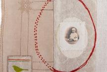 I>art>stitch art / by Claire