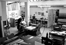 keleloko printmaking workshop / keleloko is printing here