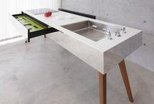オーダーキッチン【KKAA+krip】 / kripと金田圭二建築設計事務所制作したオーダーキッチン