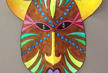 AFRICAN MASKS-ART