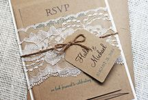 Invitation Shabby Chic
