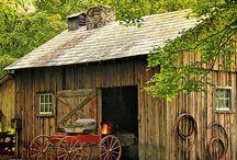 Barns, I <3 them! / by Debra Windham