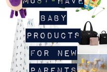 Baby must-haves / Must have baby products for new parents - these will make your life easier and keep newborns/older babies happy
