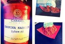 The spice story: hot scenes - spicy details / Greek smoked sweet paprika only at Caravel spices and teas