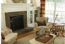 HOUSE- Fireplace / by Jenn @ Good Job Jenn .com