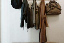 Coat hanging