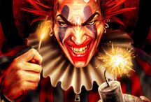 CREEPY CLOWNS / The not so funny side of clowns