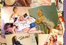 Pin Up Vintage Retro ♥ / About the time where I should have born...